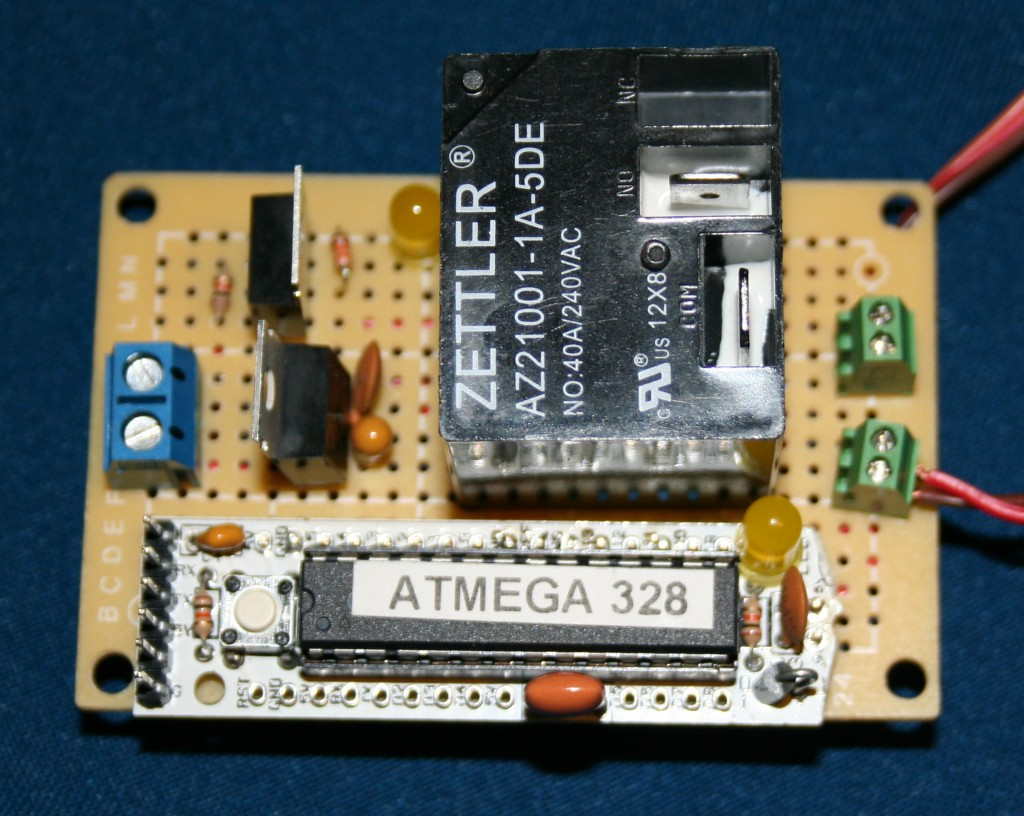 Mower Motor Controller, front view