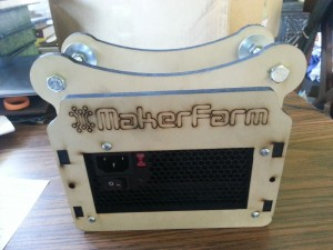 The Makerfarm Spool Tower, my warm-up before building the printer.