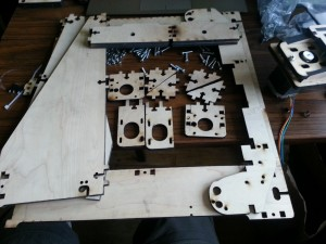 Parts for the frame