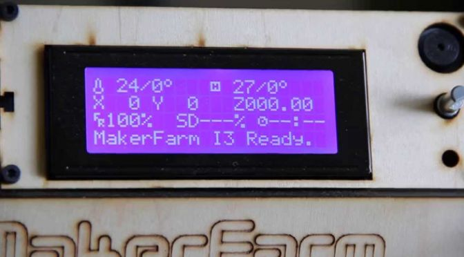 RepRap 101: Activating Marlin's EEPROM functions, and what that does for you.