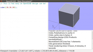 Scripting in OpenSCAD doens't have to be difficult or complex.