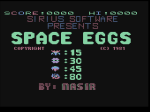 Space Eggs title page